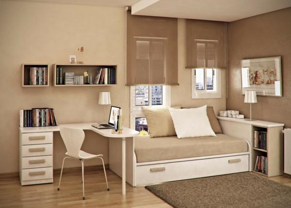 L 39 id e de d co pour studio peut tre super moderne - Meubles pour petit appartement ...