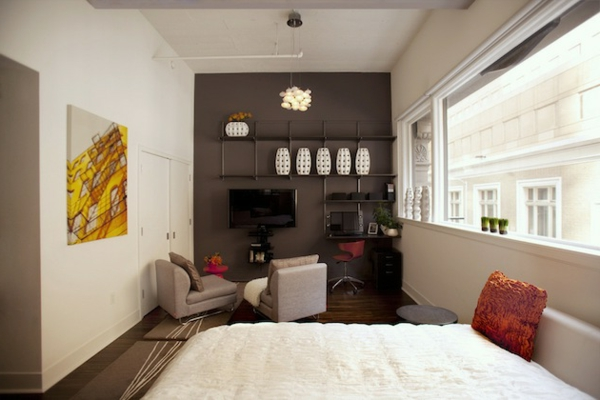 L 39 id e de d co pour studio peut tre super moderne - Decoration studio moderne ...