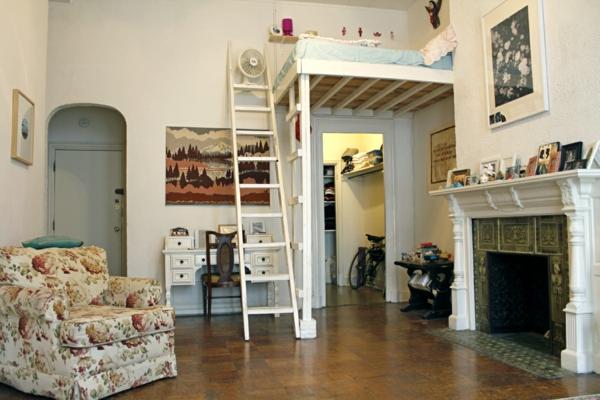 idee-de-deco-pour-le-studio-lit-mézanine