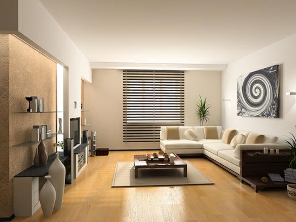 intérieur-de-la-maison-contemporaine-en-bois-et-un-sol