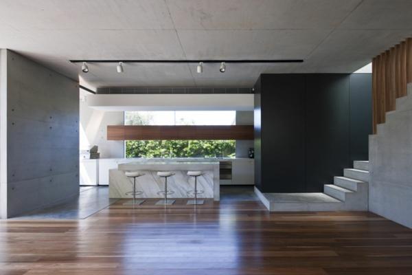 intérieur-de-la-maison-contemporaine-sol-en-bois-blanc-escape