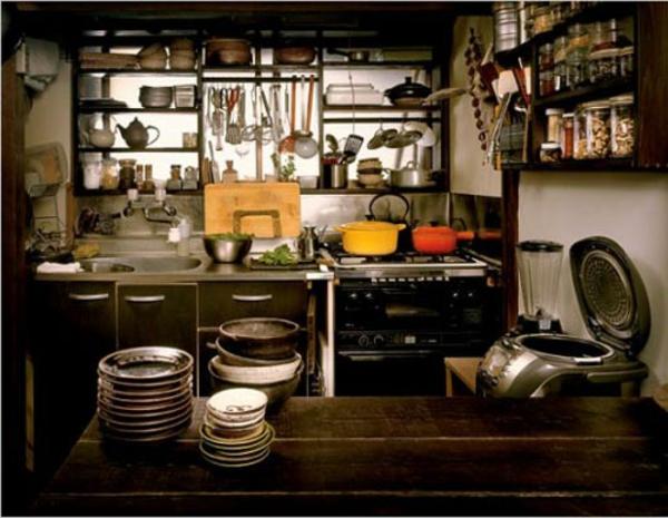 Des ustensiles de cuisine et d co for Japonais cuisine ouverte