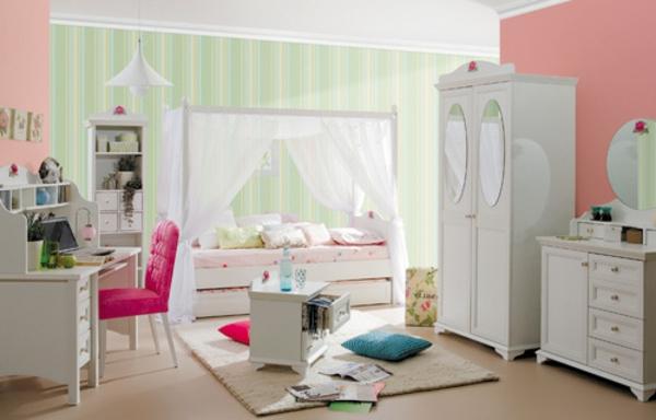 Le design de la chambre de b b modern en blanc for Petite chambre bebe