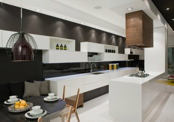 kitchen-of-Modern-House-Interior-in-White-and-Black-Theme
