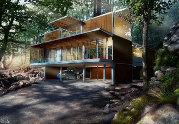 maisons-modulaires-maison-avec-garage