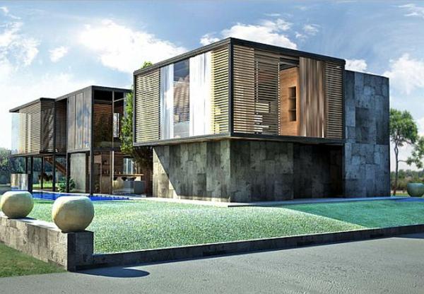 maisons-modulaires-maisons-compactes-préfabriquées