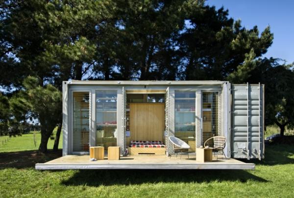 Les maisons modulaires les habitations modernes en pleine nature - Petite maison design ...
