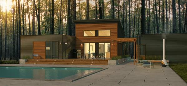 Les maisons modulaires les habitations modernes en for Maison moderne prefabriquee