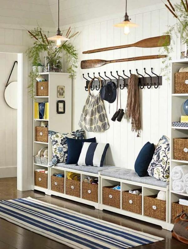 Variantes d co du meuble vestiaire for Decoration industrielle pas cher
