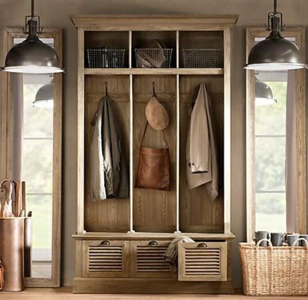 meuble-vestiaire-deux-lampes-pendantes-noires