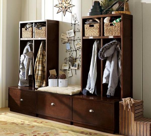 variantes d co du meuble vestiaire. Black Bedroom Furniture Sets. Home Design Ideas