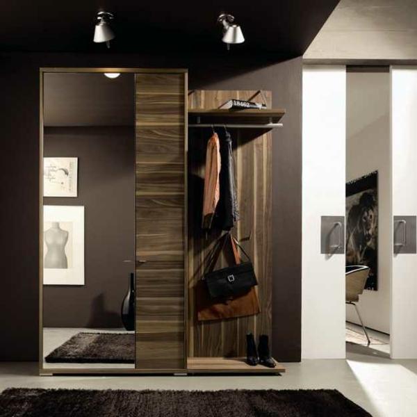 meuble-vestiaire-moderne-et-miroir