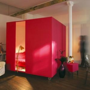 L' idée de déco pour studio peut être super moderne!