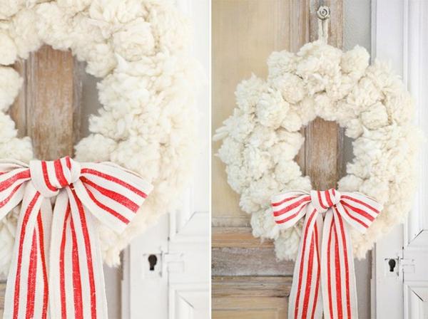 noel-décoration-en-blanc-pour-votre-design-unique