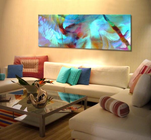 peinture-abstraite-dans-une-salle-de-séjour