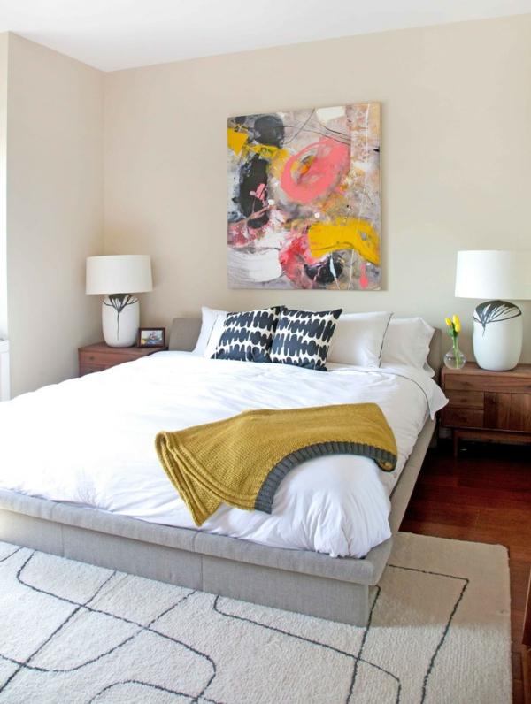 peinture-abstraite-en-jaune-et-rose