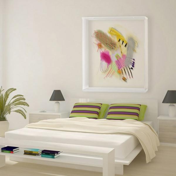 peinture-abstraite-pour-une-chambre-à-coucher-féminine