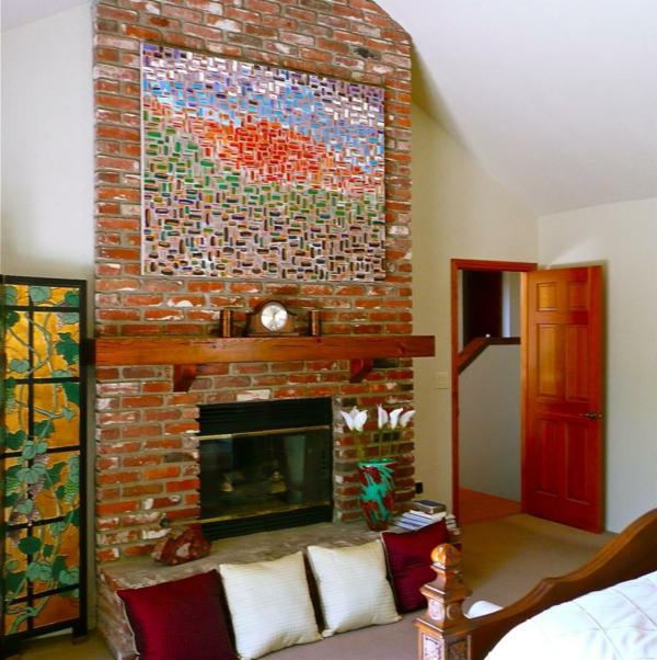 peinture-abstraite-sur-un-mur-en-briques