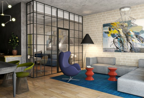 La peinture abstraite dans l 39 int rieur contemporain for Interieur artistique