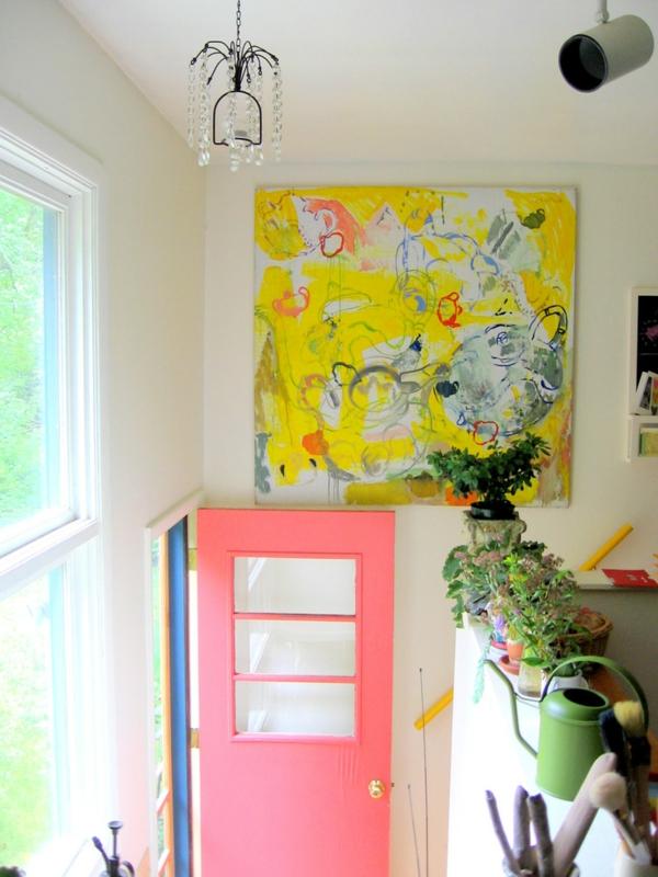 peinture-abstraite-un-tableau-peinture-huile