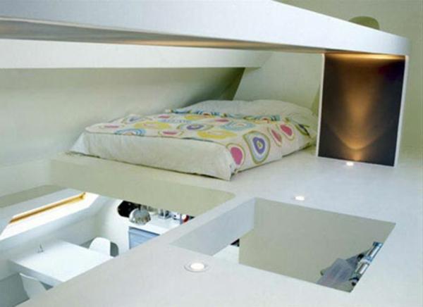 petit-apparement-et-une-chambre-à-coucher-en-blanc