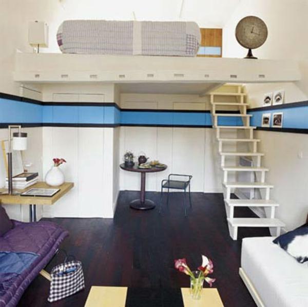 l 39 id e de d co pour studio peut tre super moderne. Black Bedroom Furniture Sets. Home Design Ideas