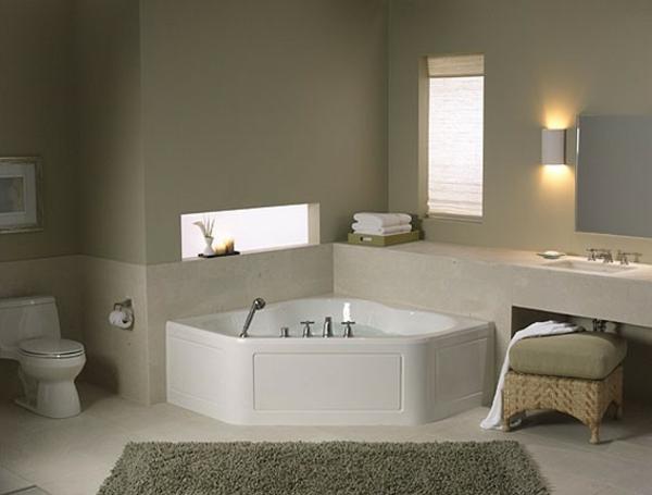 petite-baignoire-d' angle-joli-intérieur-