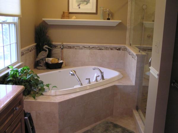 salle de bain baignoire dangle salle de bain moderne avec baignoire d angle balneo - Salle De Bain Baignoire Rose