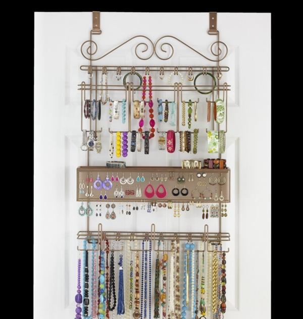 Le porte bijoux mural une d co pratique et belle for Meuble porte bijoux