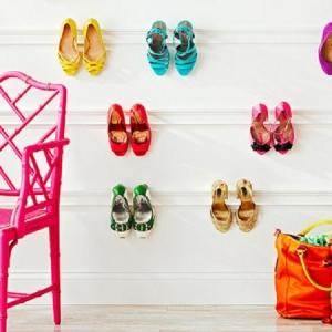 Designs de porte chaussures mural