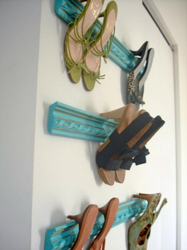 porte-chaussures-mural-design-simple