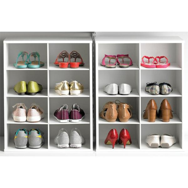 porte-chaussures-mural-en-blanc