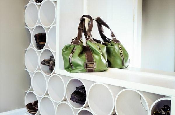 porte-chaussures-mural-pvc