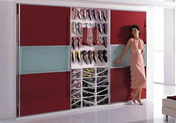 porte-chaussures-un-mur-déco