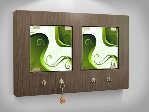 un porte cl mural original id es cr atives. Black Bedroom Furniture Sets. Home Design Ideas