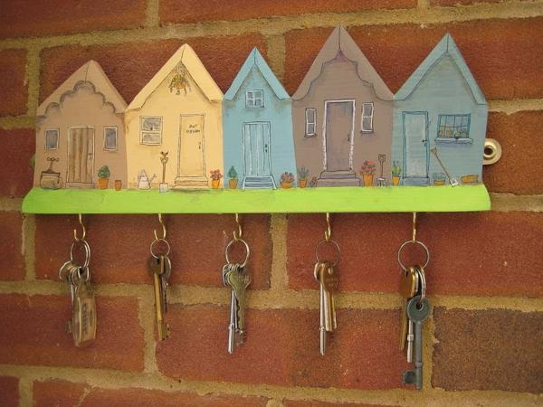 porte-clé-mural-original-maisons