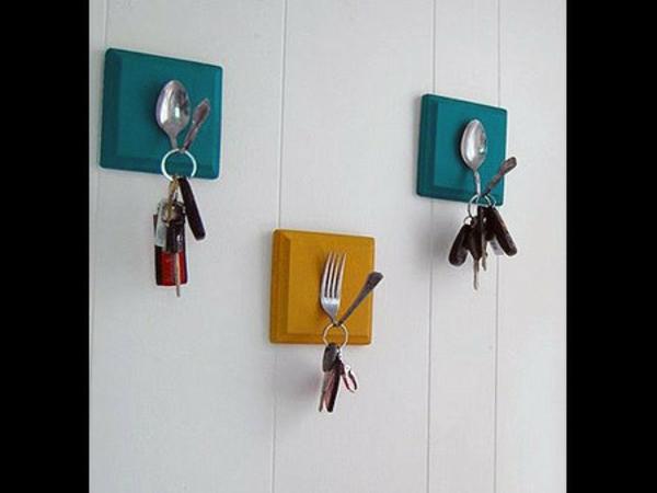 porte-clé-mural-original-porte-clés-fourchettes