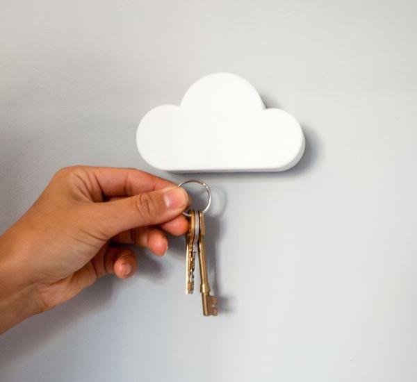 porte-clé-mural-original-une-nuage