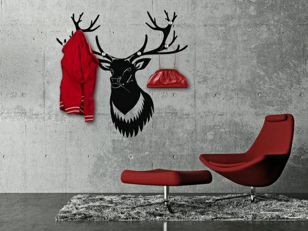 porte-manteau-design-original-décoration-jolie-de-couloir
