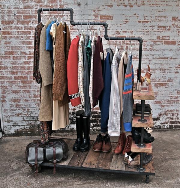 Id es de porte manteau design original - Porte fenetre style industriel ...