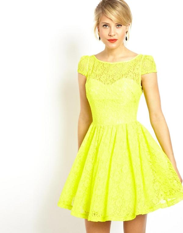 Préférence Robe jaune pale dentelle – Robes de mode site photo blog UM49