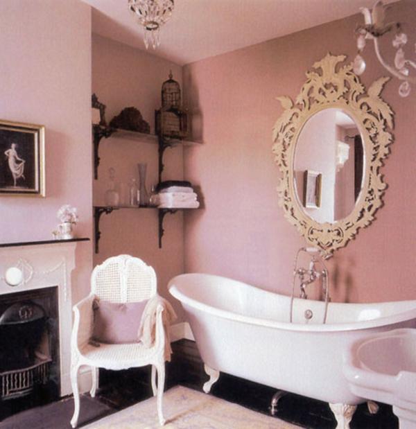 rose-salle-de-bain-retro