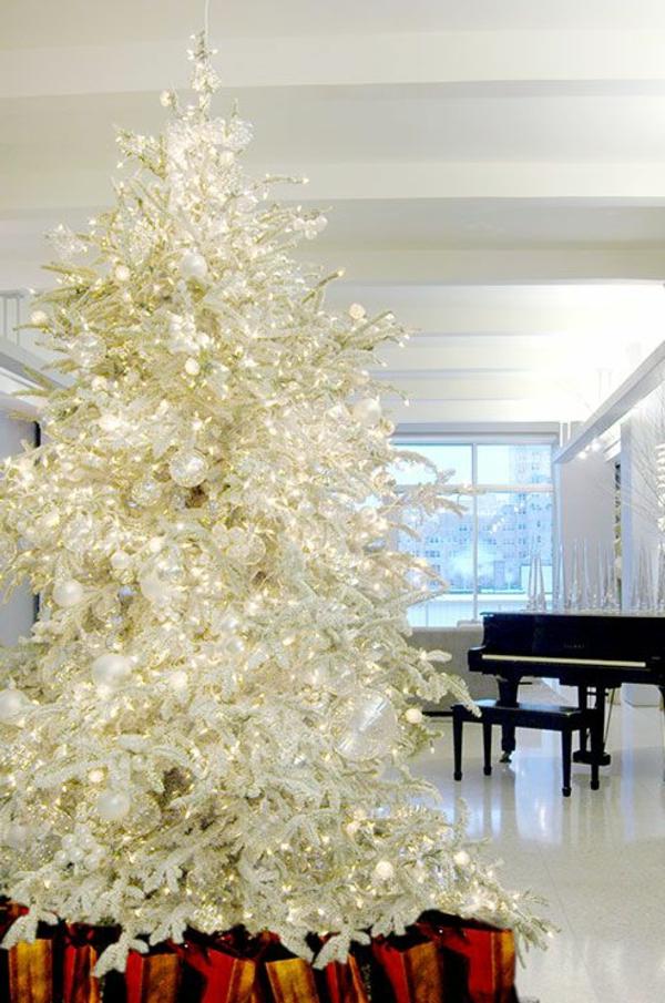 sapin-de-noel-blanc-arbre-de-noel-brillant