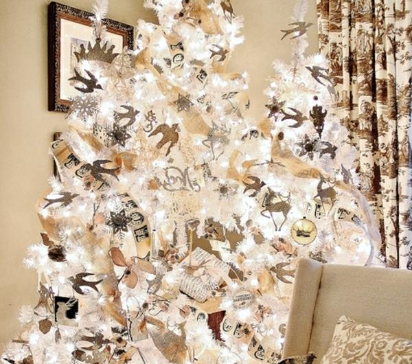 sapin-de-noel- blanc-décoration-de-noel-miraculeuse