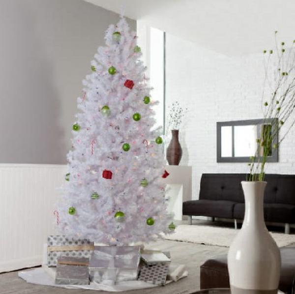 sapin-de-noel-blanc-grande-vase-décorative