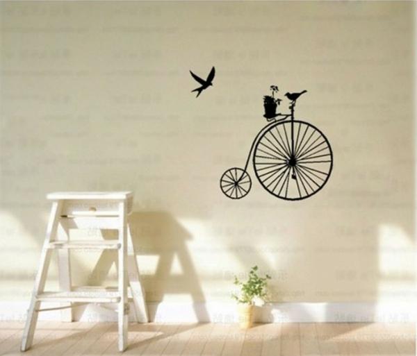 sticker-mural-vélo-retro
