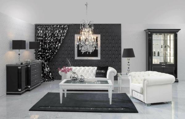 suspension-baroque-salle-de-séjour-inspirante