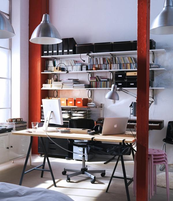 suspension-industrielle-intérieur-contemporain-bureau-de-travail
