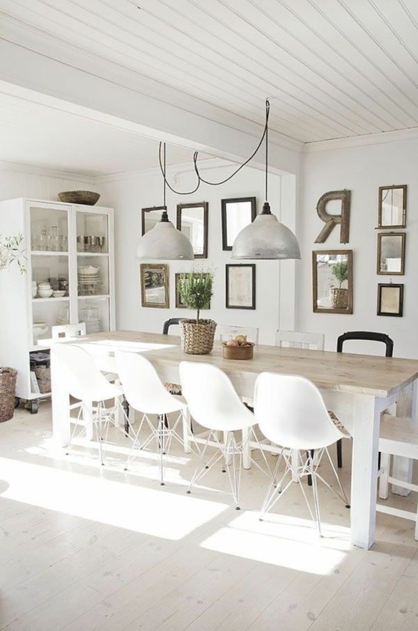La suspension industrielle un l ment loft d co fantastique - Deco industrielle scandinave ...