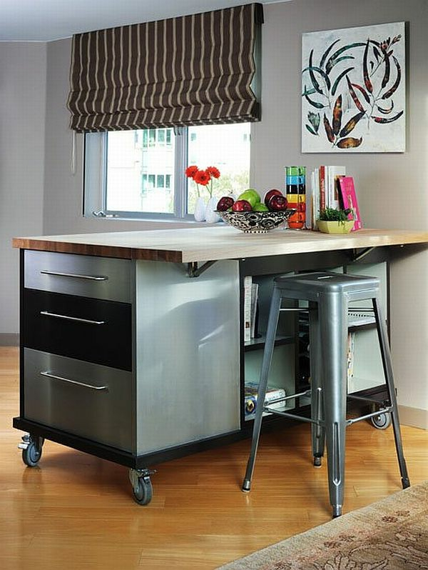 le tabouret de bar industriel apporte une touche d co dans l 39 int rieur. Black Bedroom Furniture Sets. Home Design Ideas